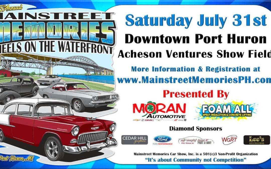 Mainstreet Memories Wheels on the Waterfront 2021